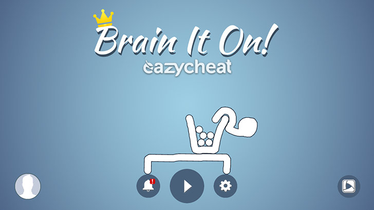 обзор Brain It On! - Physics Puzzles